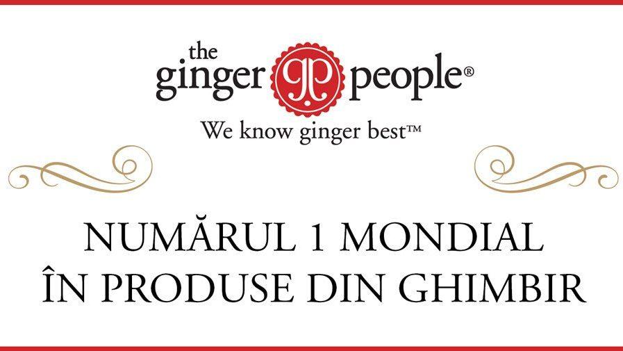 Ginger People – Numărul 1 mondial în produse din ghimbir, prin Pronat