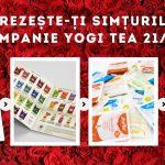 """Campania Yogi Tea """"Trezeste-ti simturile"""""""